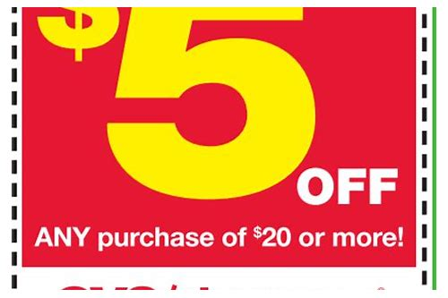 coupons cvs store