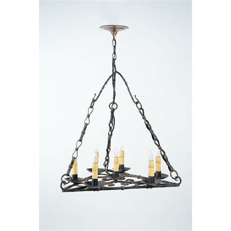 Chandelier Antique Wrought Iron Chandelier Mclean Lighting