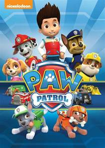 paw patrol poster characters