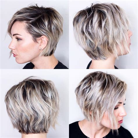 long bob and pixie cuts for diamond faces short hairstyles for oval faces hair