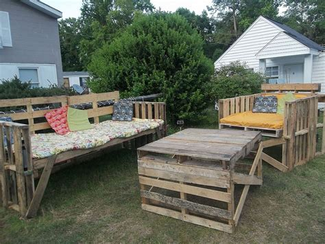 patio pallet furniture plans diy outdoor pallet furniture plans
