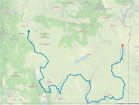 map of oregon deserts announcement 800 mi oregon desert trail speed record