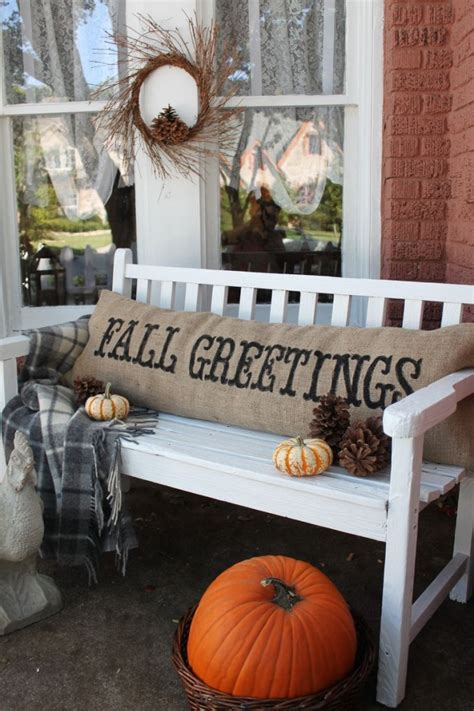 burlap fall decorations fabulous fall decor ideas