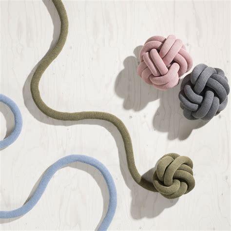 design house la coussin knot de design house stockholm