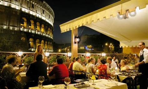best restaurants in rome with a view rome restaurant dining cafe bar with a view italy