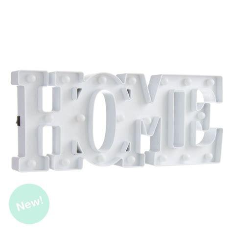 letras home decoracion letras home de leds blanca decorativa dcasa es
