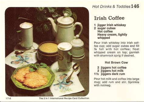 irish coffee amp irish potato pancakes with rum applesauce