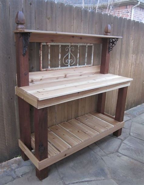 make your own potting bench detailed plans for making your own potting bench potting