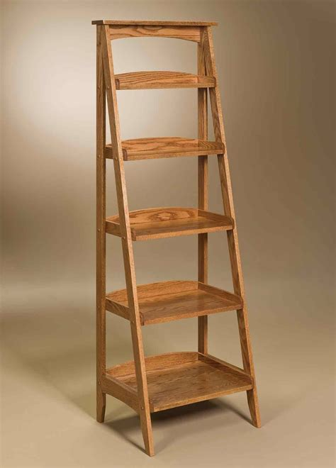 wooden ladder shelves home design