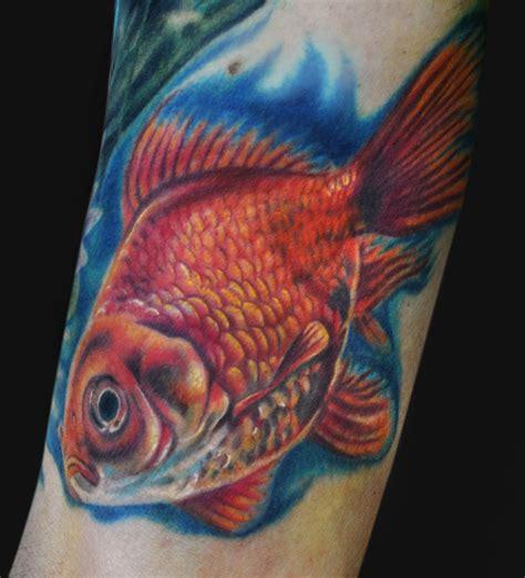 goldfish tattoo designs fish tattoos page 4