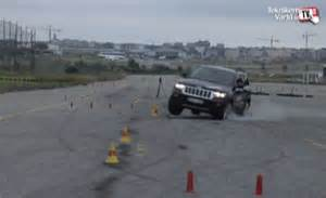 Jeep Elk Test Jeep Grand Tires Pop During Second Moose Test
