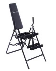 inversion chair back inversion table health