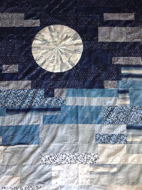 Blue Moon Quilt Pattern by Moon Quilt Pattern Favequilts