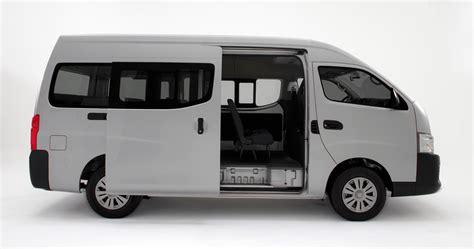 nissan urvan 2017 interior nissan presenta la nueva nv350 2017 automundo