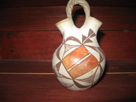 Indian Wedding Vase Story by American Pueblo Pottery Randy Bowles Stories