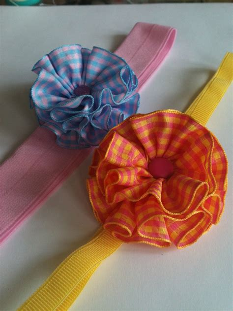 Handmade Flowers With Ribbons - 78 best images about handmade flowers ribbon things on