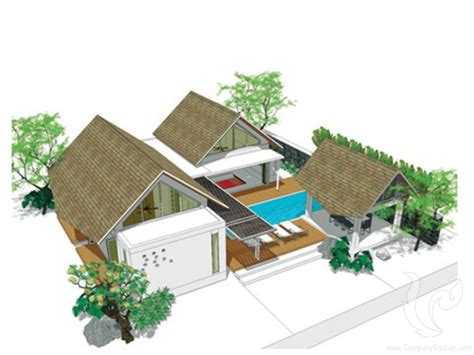 Plan Maison Tropicale Gratuit 2115 by Plan Maison Tropicale