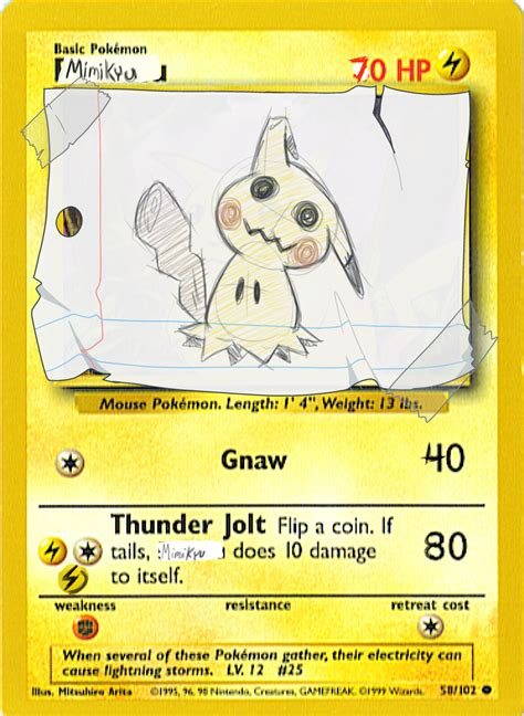 And Cards - how do i steer this thing mimikyu card