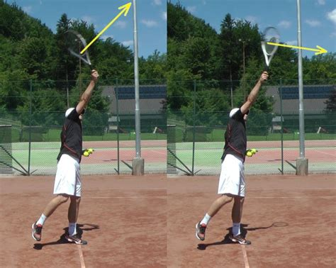 tennis serve swing path hitting up on serves talk tennis