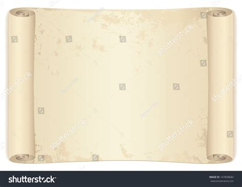 design background letter scroll old parchment paper design old stock illustration