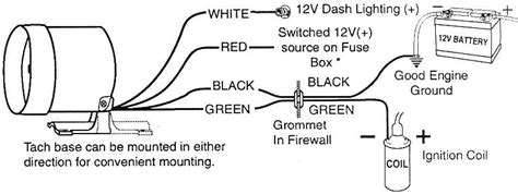 autometer playback tach wiring diagram efcaviation