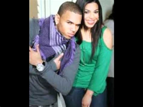 Jordin Sparks And Chris Brown On The Set Of No Air by Chris Brown Jordin Sparks No Air Remix
