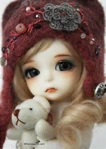 melancholic cute doll with teddy whatsapp99 com