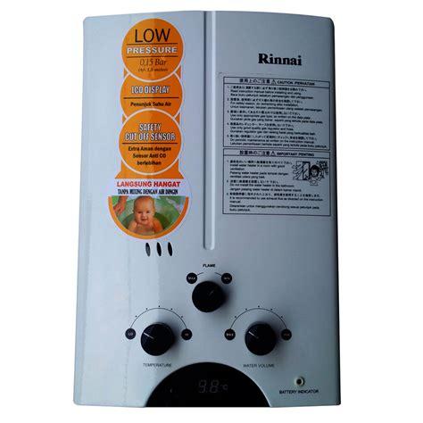 Rinnai Reu 5cfc Gas Water Heater Putih 5l jual gas water heater rinnai reu 5cfc roemah elektronik