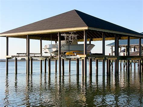 boat lift pilings fiberglass composite dock and pier pilings pearson pilings