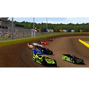 Rfactor  Dirt Late Model Race Cedar Lake 15 Laps YouTube
