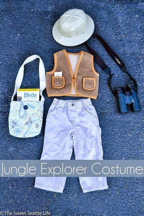 diy jungle explorer halloween costume diy costumes kids