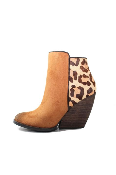 Very Volatile Chatter Leopard Booties from Laredo by 5th