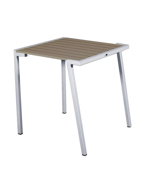 canape exterieur 1011 table empilable 70x70 collection dripper