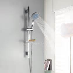 simple chrome wall mount stainless steel modern shower