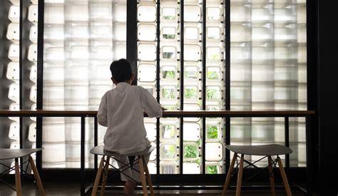 design studio bandung taman bima microlibrary made with recycled ice cream