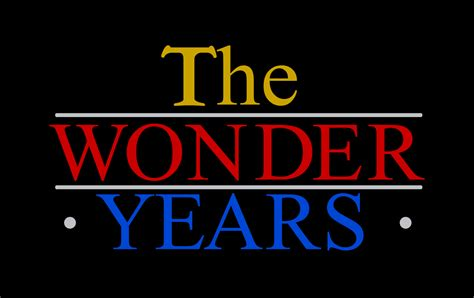 file the wonder years logo svg wikimedia commons