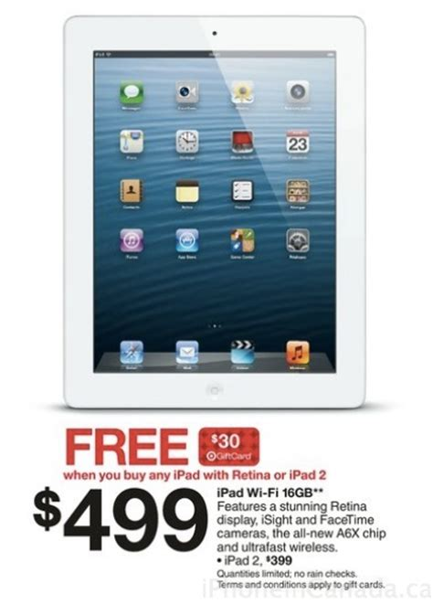 Target Ipad Mini Gift Card Deal - ipad deals at target free gift card with purchase 10 off smart cover case iphone