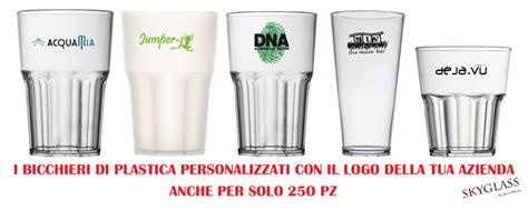 bicchieri di plastica prezzi bicchieri di plastica e attrezzature per bar