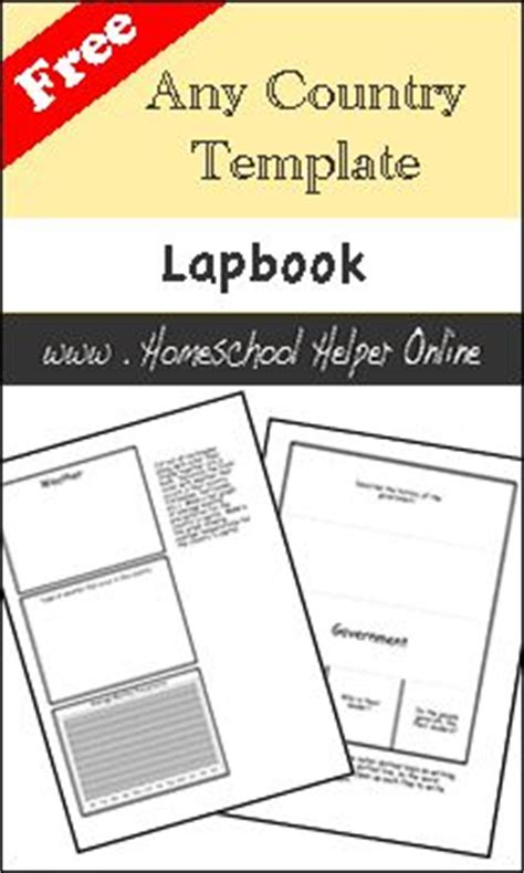 Country Report Template For Students 902 Best Lapbooks Images On Notebook Artist S