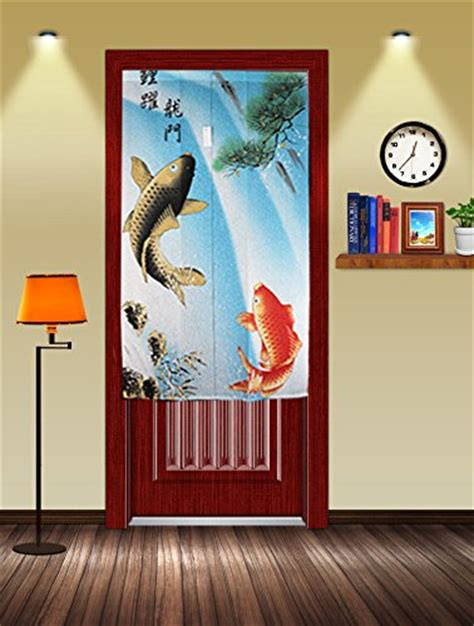 asian door curtain 712012571309 upc traditional chinese style double