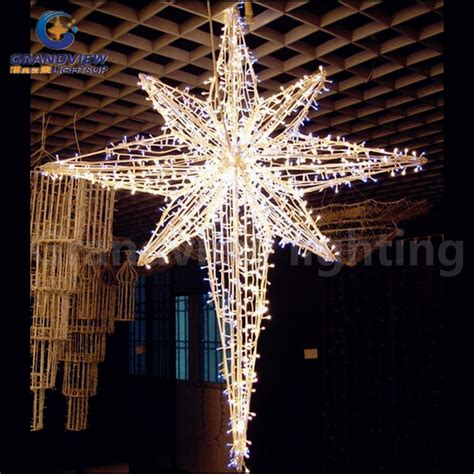 marion star christmas decoration china outdoor decoration ornament led string light for decoration with ce