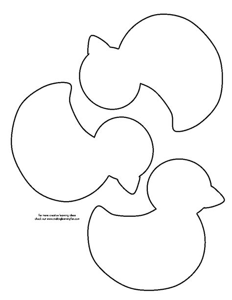 duck template outline shape of a duck pictures to pin on