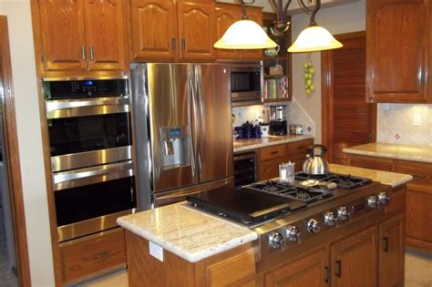 practical kitchen design practical kitchen appliance placement ideas