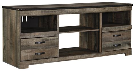 large tv console signature design by trinell w446 68 rustic large tv