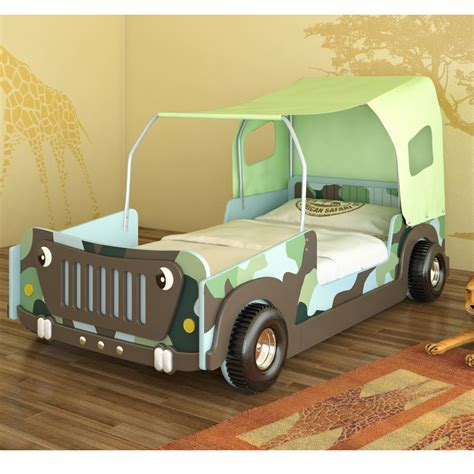 kids jeep bed car bed cot bed jeep bed green children s furniture youth