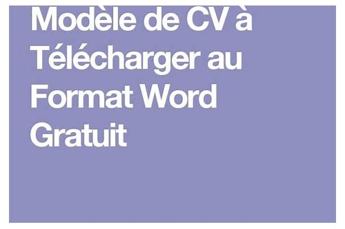 télécharger le format 16a in word format