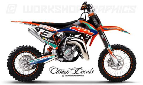 Ktm 65 Graphics 2016 Ktm 65 Us Race Graphics Kit Workshop Graphics
