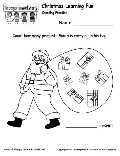 free printable worksheets for kindergarten christmas free printable holiday worksheets kindergarten santa