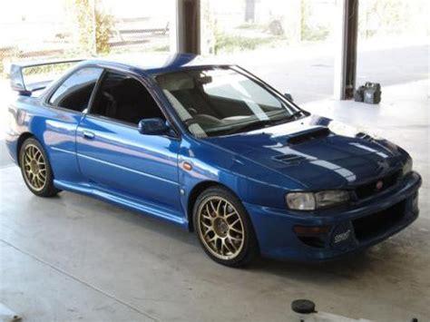 Subaru 22b For Sale by For Sale Subaru Impreza 22b Sti In Australia