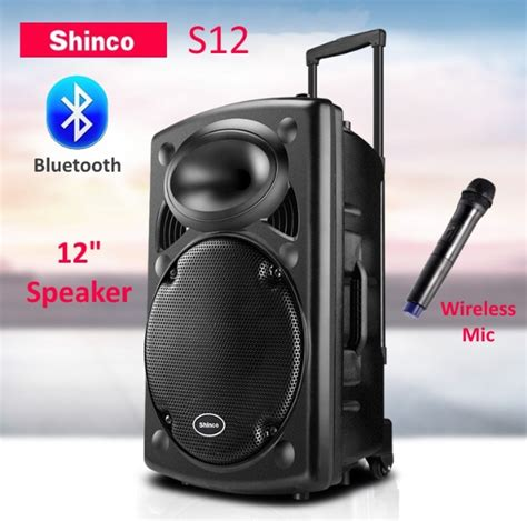 Speaker 15 Inch Malaysia shinco s12 12 portable trolley spe end 12 29 2019 3 59 pm